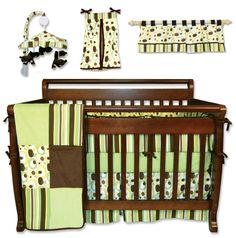 $200/ 7-piece set, http://www.overstock.com/Baby/Trend-Lab-7-piece-Giggles-Crib-Bedding-Set/6304211/product.html?refccid=TDIVE7V2DYNIL32ITK5OKDTJXM&searchidx=420 -- Trend Lab 7-piece Giggles Crib Bedding Set - Overstock Shopping - Big Discounts on Trend Lab Bedding Sets