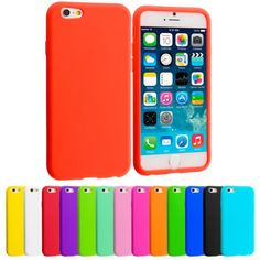 For-Apple-iPhone-6-4-7-Silicone-Case-Rubber-Soft-Skin-Cover-Accessory