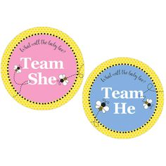 Add the finishing touches to your bumble bee gender reveal party with these bumble bee party supplies. Click now to browse. Bee Gender Reveal, Baby Gender Reveal Party, Baby Shower Favors Girl, Baby Shower Princess, Gender Reveal Party Decorations, Bee Theme, Reveal Parties, Peppermint Patties, Scrapbook Stickers