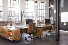Dwell - These Modern Workspaces Are Just As Welcoming as Your Living Room