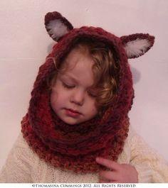 Foxy Snood Crochet Pattern 001 | Unique Earthling