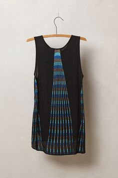 Embroidered Pavone Tank - Anthropologie.com