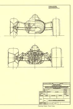 Gokart Plans 649362840000895732 - Lotus General arrangement Source by jfservat Lotus F1, Technical Illustration, Technical Drawing, Blueprint Drawing, Go Kart Plans, Racing Car Design, Vintage Race Car, Car Drawings, Kit Cars