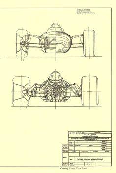 1967, Lotus 49, General arrangement