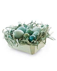 Dyed Easter Baskets How-To