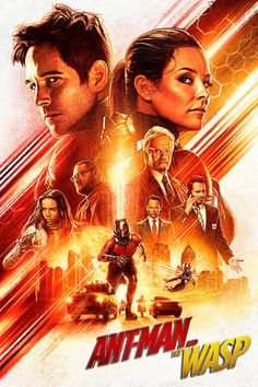Atwell v2 24x36 Evangeline Lilly 2015 Movie Poster - Paul Rudd Ant-Man