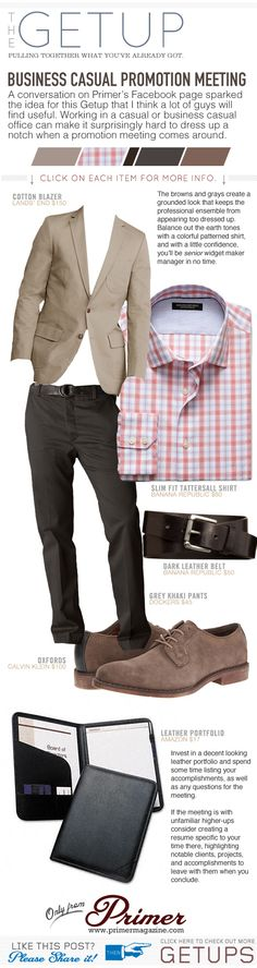The Getup: Business Casual