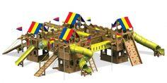 Игровая площадка Rainbow Play Systems The Fortress - доставка бесплатно. Гарантия! Сборка.