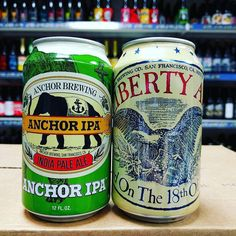 New Beers. IPA & Liberty Ale from @anchorbrewing now in stock