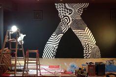 POUR HOUSE 店内壁画制作   SIGE   BLOG   HIDDEN-CHAMPION.NET   「ヒドゥン・チャンピオン」