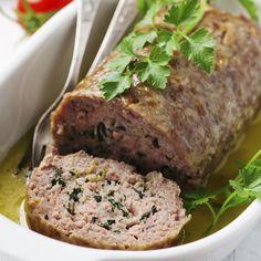 Receita Rocambole de carne moída