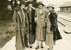 Edith and Cornelia Vanderbilt head to an Asheville Tourist #Baseball game in 1924. www.biltmore.com #Biltmore