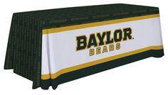 Baylor Bears Table Throw - Design C. Visit SportsFansPlus.com for details.