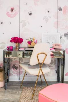 DOMINO:What's Pretty, Pink, and Floral-Inspired All Over?