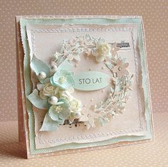 Catalena Wreath card (Dorota_mk)