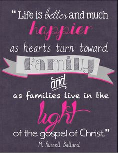 Turning Hearts to the Family