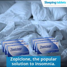 Zopiclone, the popular solution to insomnia.
