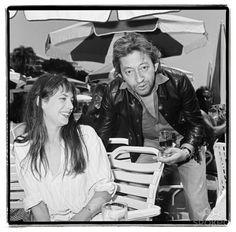 Sans m'en faire, je vais t'assurer un enfer. — 1973 Cannes - Jane Birkin and Serge Gainsbourg...