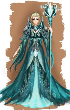 Frozen Elsa by Nairiai.deviantart.com on @deviantART