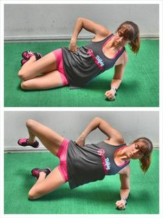 4 Moves To Prevent Low Back Pain - Use these 4 activation exercises to get your abs and glutes working and prevent low back pain! Neck And Back Pain, Low Back Pain, Bodyweight Glute Exercises, Glut Exercises, Band Exercises, Bum Workout, Glute Bridge, Abdominal Muscles, Fat To Fit