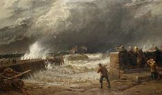 Crossing the Bar – A Break in the Clouds, St Ives'  by John Mogford