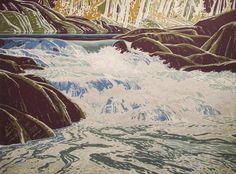'White Water' | The Sampson-Matthews Prints