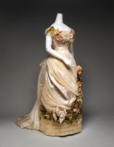how many yards of fabric to make a victorian ball gown - Google Search