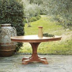 "$1499 52"" plus 16"" leaf. Tovalo Pedestal Table | Home Decor | Ballard Designs"