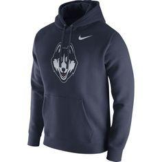 Nike Men's UConn Huskies Blue Club Fleece Hoodie, Size: Medium, Team