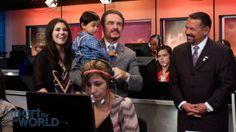 "Rebecca Lamb, Baby Israel, Marcus Lamb, & Larry & Tiz Huch at ""Heart for the World"" [Daystar.com]"