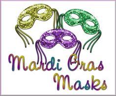 Paint Shop Pro Mardi Gras Tutorial