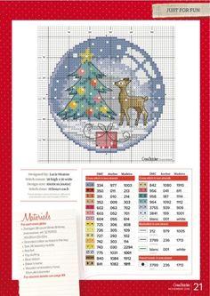 Brilliant Cross Stitch Embroidery Tips Ideas. Mesmerizing Cross Stitch Embroidery Tips Ideas. Cross Stitch Christmas Ornaments, Xmas Cross Stitch, Just Cross Stitch, Cross Stitch Needles, Cross Stitch Cards, Christmas Cross, Counted Cross Stitch Patterns, Cross Stitch Designs, Cross Stitching