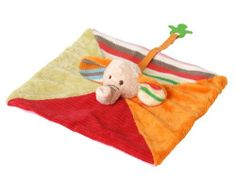 Happy Horse Fancy Baby Blanket Pal, Elephant Gaby by Geared For Imagination. $14.99. From the Manufacturer                Geared for Imagination is proud to introduce the fancy baby collection from Happy Horse. A collection of plush animals and baby toys designed in Holland with both a sweet sensibility and modern style. This elephant lovie (also known as tuttles or doudous) is the perfect tag-along friend for your child. Also features a pacifier strap for connecting a baby'...