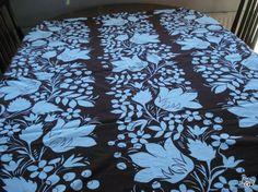 Vintage pöytäliina, Tampella Marimekko, Antique Prints, Floral Motif, Finland, Print Design, Retro Vintage, Cotton Fabric, Designers, Fabrics