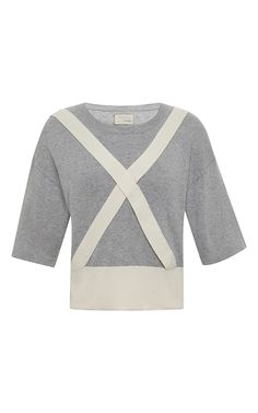 Trompe L'Oeil Sweater with Suspender-Detail by Band of Outsiders Now Available on Moda Operandi