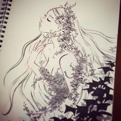 #poisonivy #inktober #inktoberday11 a poison ivy sketch I started yesterday, but finished today!