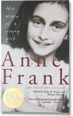 ANNE FRANK... definitely a tear jerker #Book #Books Worth Reading #Books to Read
