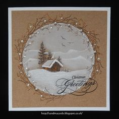 Sandma's Handmade Cards: Rudolph Days - May 17