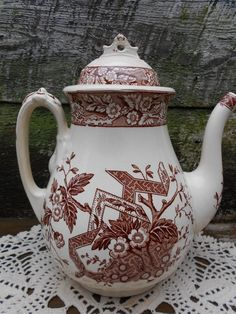 1800's Wedgwood Beatrice Aesthetic Brown by CottonCreekCottage, $298.00