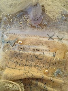 Ruth Rae is my favorite textile artist; i think we have all her books.