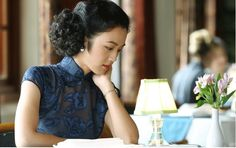Cheongsam (Qi Pao旗袍) in Chinese films - Lust, Caution (色戒)- Tang Wei (汤唯) & Tony Leung Chiu Wai (梁朝伟) Directed by Ang Lee (李安)