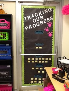 Data wall that goes along with the Story Grammar Marker program
