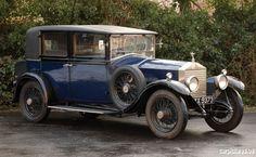 1928 Rolls-Royce 20 hp Limousine by Barker