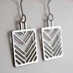 '80s V Earrings, $29, now featured on Fab.