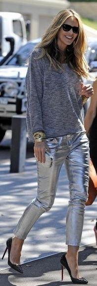 Metallic Street Fashion