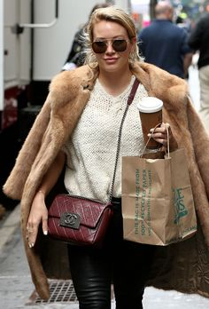 d47f6f0f87b0ef This Week, Celebs Loved Hermès, Dior and High-Waisted Denim - PurseBlog  Dior. Dior HigherChanel PurseChanel BagsHilary DuffCloth ...