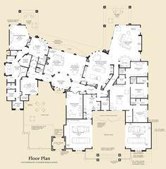 Villarica Floor Plan. This thing is MASSIVE!!!