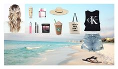 """Happy Summer!! ☀️❤️"" by bellaclairecassedemont ❤ liked on Polyvore featuring 3x1, Calvin Klein, Kate Spade, Aveeno, Christian Dior, Gucci, Ralph Lauren, Sisley and Fallon & Royce"