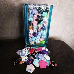 Ca commence à en faire des étoiles !  #handmade #faitmain #origami #papier #paper #stars #etoiles #venteprivee