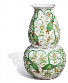 "Vase ""Stylised Flowers"", H 40 cm"